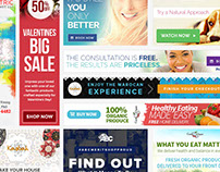 Various Banner Ads