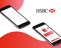 HSBC Mobile Banking App Redesign