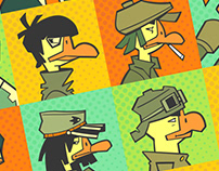 Bunch of geese #2