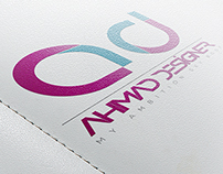 "I'am Logo ""AHMAD DESIGNER"""