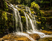 Liffy Falls in Drought