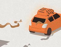 tiger's journey
