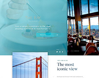 The Bay restaurant - UI / UX Design