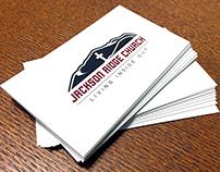 Business Card Design - Jackson Ridge Church