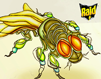 Raid - Distractores