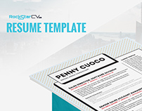 Resume Template Zonje