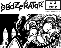 OBDŻERATOR - COMIC STRIPS