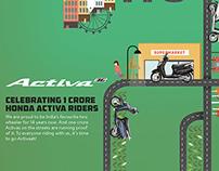 Honda Activa Media Innovation