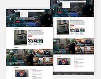 Oncology Website Design