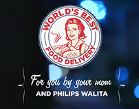 Philips Walita - World's Best Food Delivery