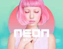 Neon Salon - Branding & Website