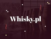 Whisky.pl - Concept WWW & App