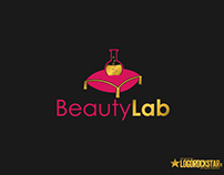 Beauty Lab Cosmetics logo and branding