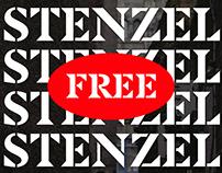 Stenzel Typeface