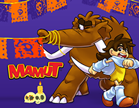 Mamut - Día de Muertos Animation