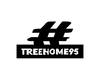 #treehome95 - millenial music brand design