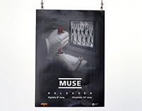 Muse - Drones, Release posters