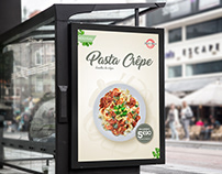 Pasta Crêpe_Outdoor Ads