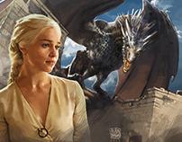 Daenerys Targaryen - Digital Painting