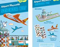 Airport Playworld Sticker kit -Peaceable Kingdom