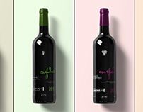Logo and corporate identity for a winery Udarny