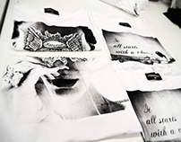 T-shirt & Bag Print