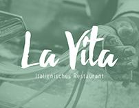 La Vita Italienisches Restaurant - Branding & Website