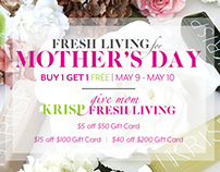 KRISP Fresh Living - Mothers Day