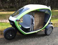 E-trike Eletric Vehicle
