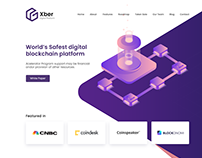 Xber - Landing Page