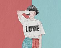 2017, love, illustration
