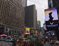 Air Force Birthday Billboard-Times Square