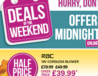 Weekly Email Offers for Robert Dyas
