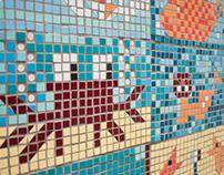 pixel art mosaic