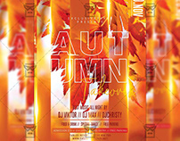 Autumn Takeover Flyer – Seasonal PSD Template