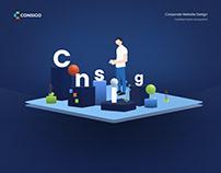 Consigo. Certified Public Accountant. Corporate website