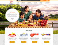 Monde Nissin Corporate Website - 2015