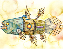 Mechanical fish 3