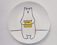 Polar bear plates