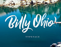 Free Billy Ohio Brush Font