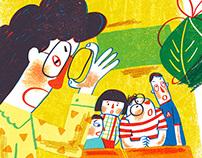 Recent illustration works-7-10