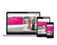 Responsive Landingpage for Telekom Speedphone