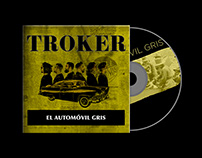 TROKER CD Case Package Mockup
