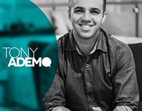 Revista Tony Ademo para divulgação das palestras.
