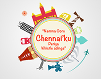 Chennai Illustration