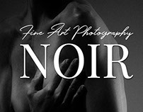 Redesign Web Project Noir Photography