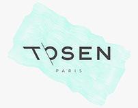 Tosen Caps: Brand Identity