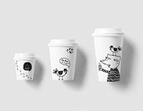 "Corporate identity. ""Coffee as a fairy tale"""