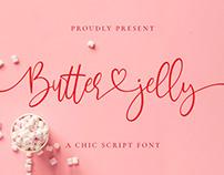 Free Butter Jelly Script Font
