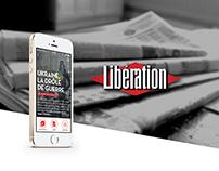 Libération : Mobile App